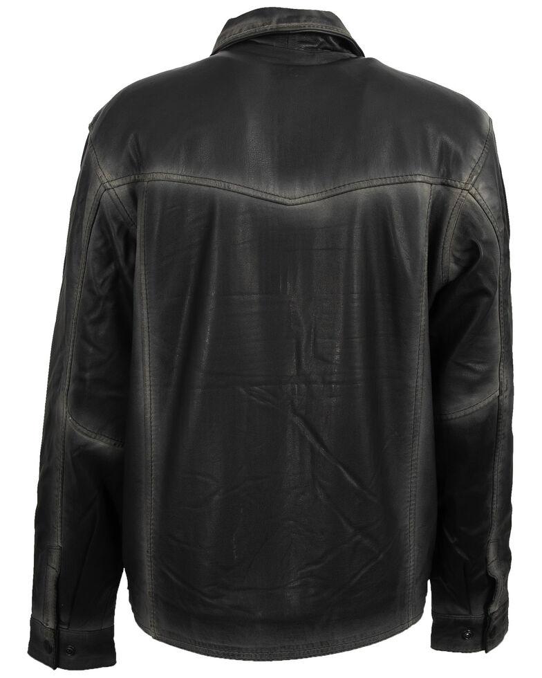 STS Ranchwear Women's Espresso Rifleman Leather Jacket, Dark Brown, hi-res