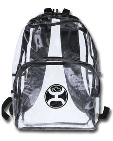 HOOey Nitro Clear Backpack , Black, hi-res