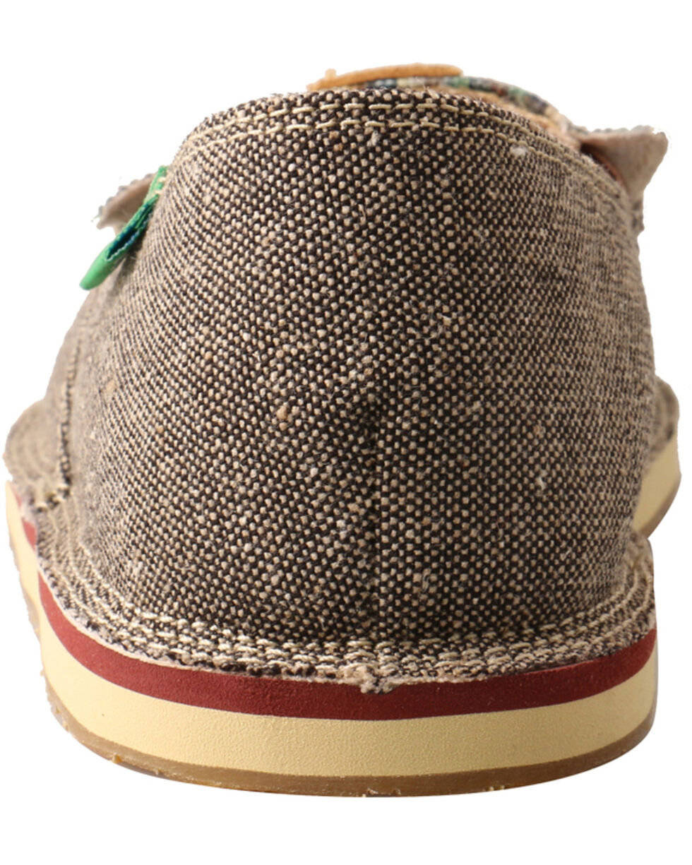 Twisted X Boys' Cactus Driving Loafers - Moc Toe, Lt Brown, hi-res