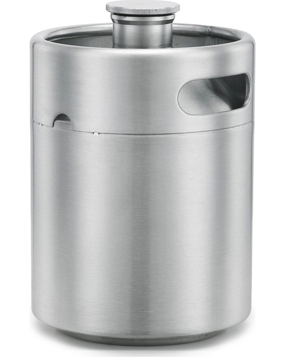 Big Sky Carvers Growler Keg Flask, Steel, hi-res