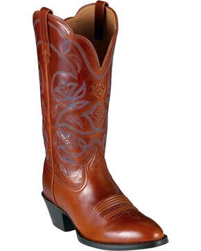 Ariat Women's Heritage Western Boots, Cognac, hi-res