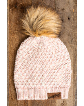 Idyllwind Women's Pink Cozy Town Beanie, Pink, hi-res