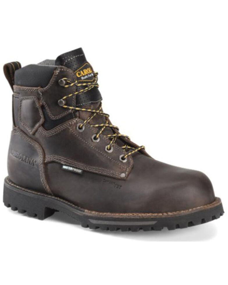 Carolina Men's Pitstop Waterproof Work Boots - Carbon Toe, Grey, hi-res