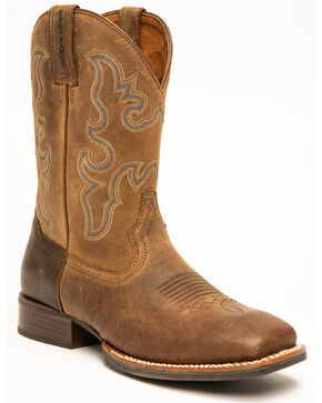 Cody James Men's Xero Gravity Western Boots - Wide Square Toe, Brown, hi-res
