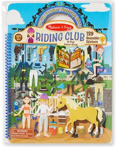 Melissa & Doug Kids' Riding Club Puffy Sticker Activity Book , No Color, hi-res