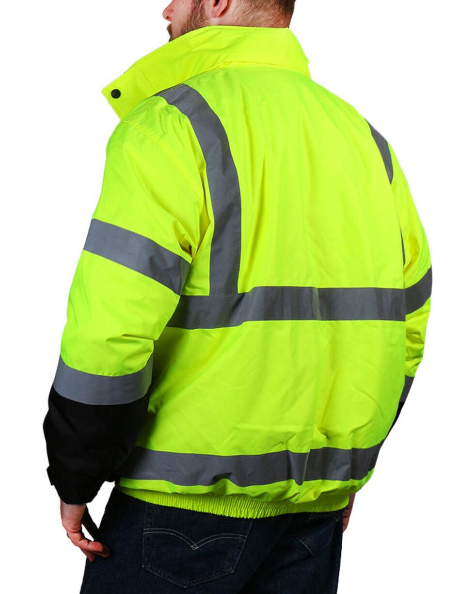 American Worker Men's Bomber Jacket - Big & Tall, Bright Yellow, hi-res