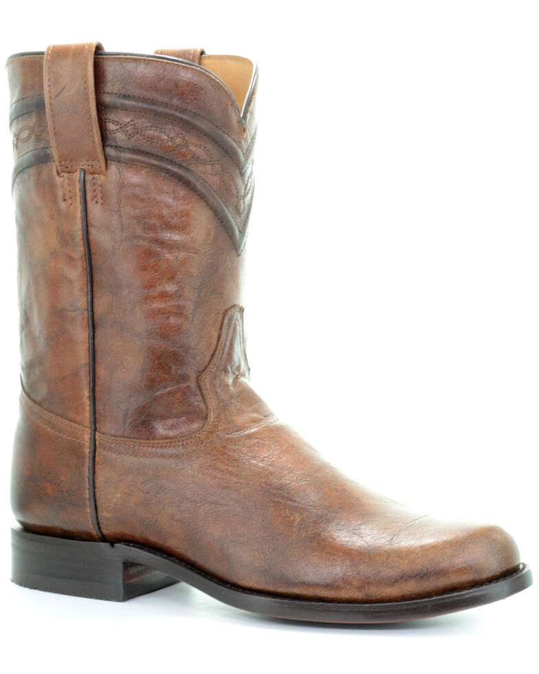 Corral Men's Lee Western Boots - Narrow Square Toe, Honey, hi-res