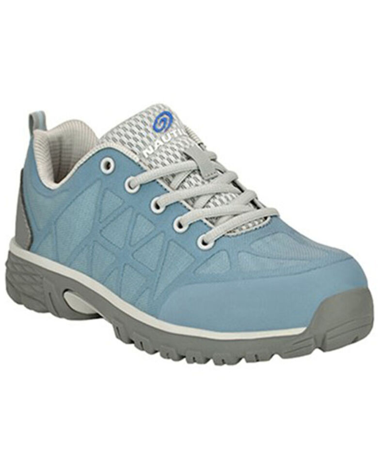 Nautilus Women's Spark Work Shoes - Alloy Toe, Blue, hi-res