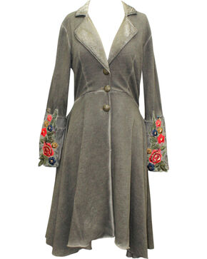 Aratta Women's Olive Alma Coat , Brown, hi-res
