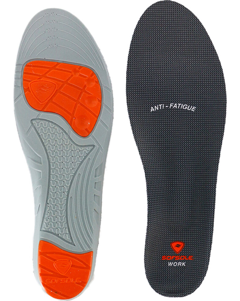 SofSole Men's Work Performance Insoles, No Color, hi-res