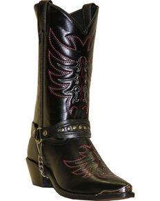 "Sage Boots by Abilene Men's 12"" Scorpion Western Boots, Black, hi-res"