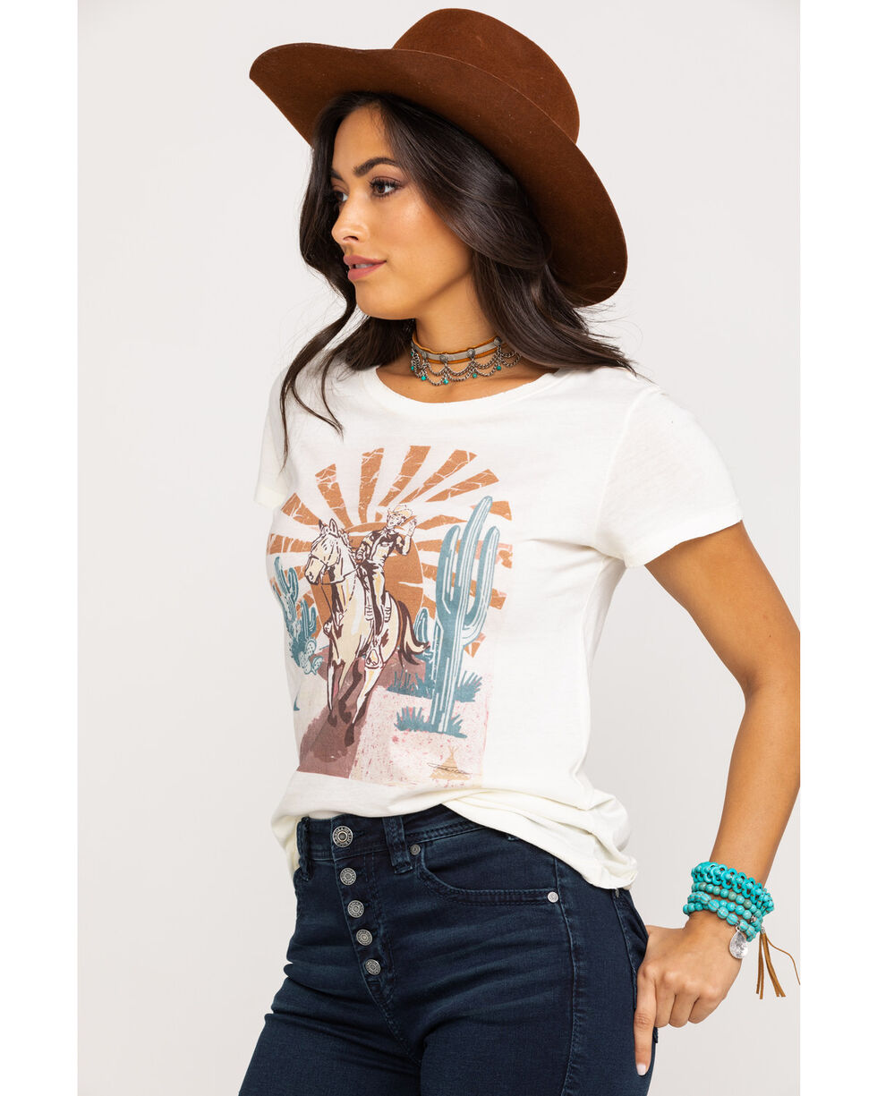 Tasha Polizzi Women's Rose of The Wild Tee, Ivory, hi-res