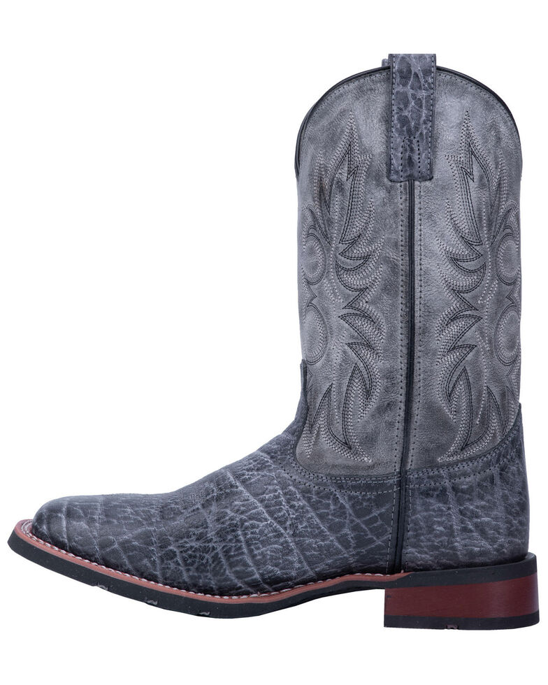 Laredo Men's Durant Grey Western Boots - Wide Square Toe, , hi-res