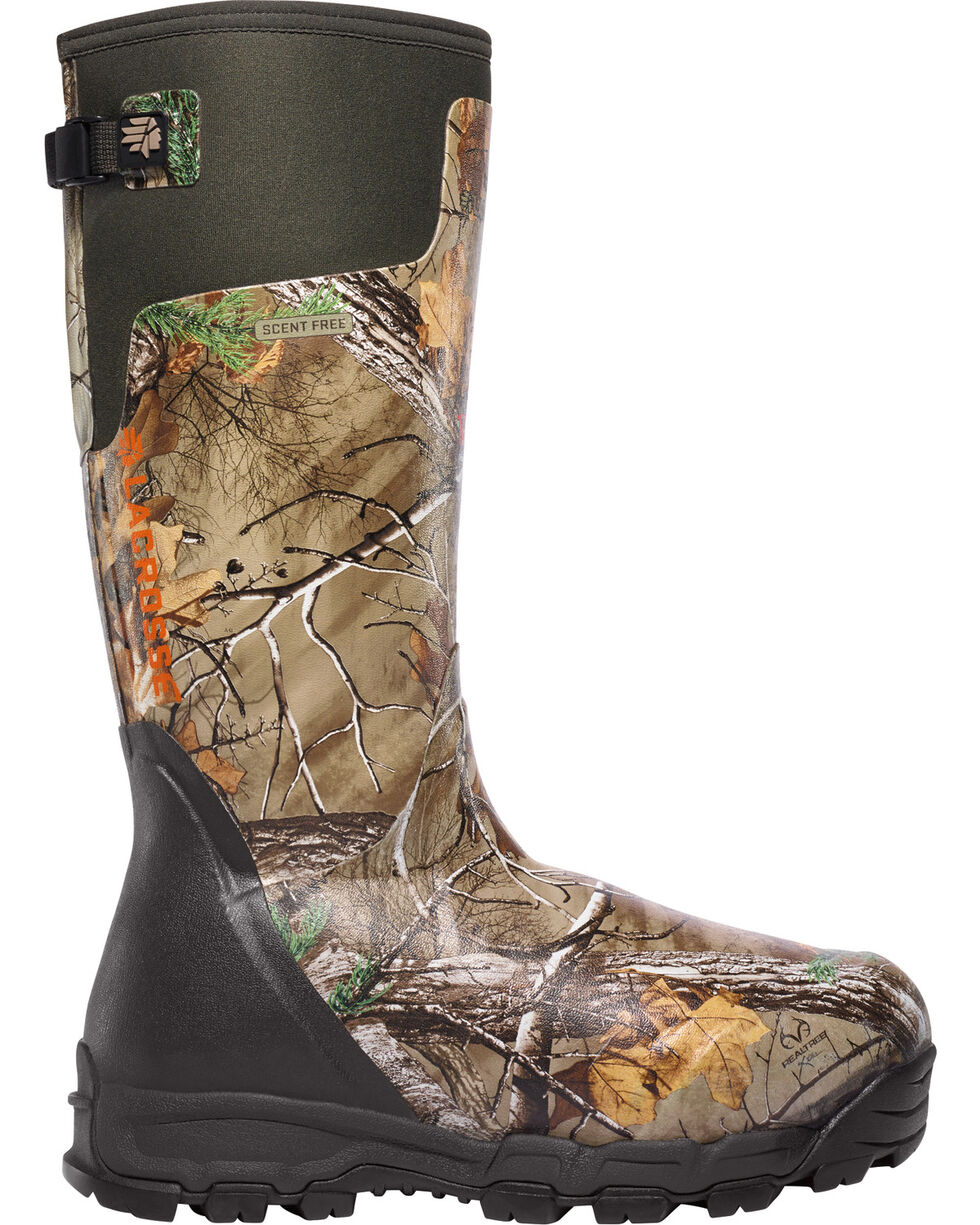 LaCrosse Men's 1600G Alphaburly Pro Realtree Xtra Hunting Boots, Brown, hi-res