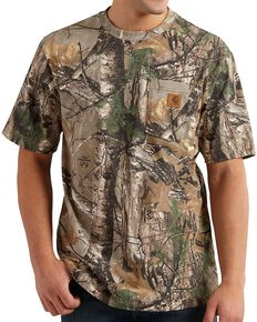 Carhartt Realtree® AP HD® T-Shirt - Big & Tall, Camouflage, hi-res