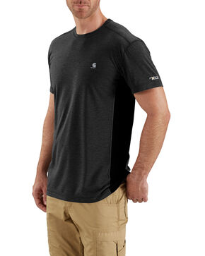 Carhartt Men's Black Force Extremes Lightweight Work T-Shirt - Big , Black, hi-res