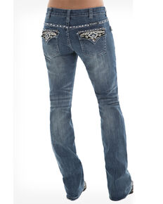 Cowgirl Tuff Women's Sonora Jeans, Blue, hi-res