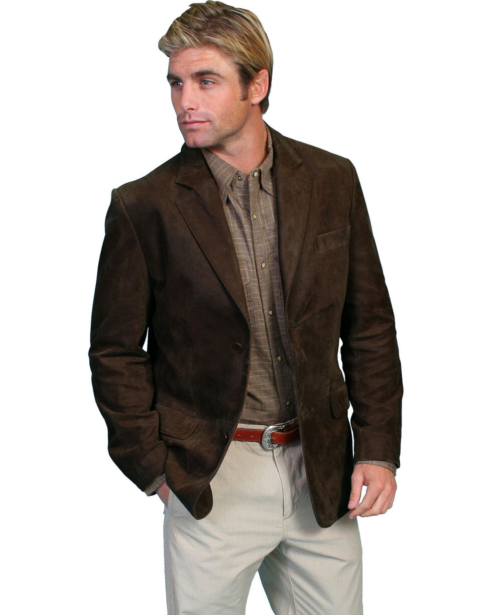 Scully Suede Blazer, Brown, hi-res
