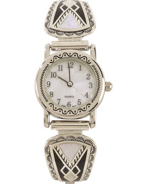 Silver Legends Women's Multi Channel Opal Watch , White, hi-res