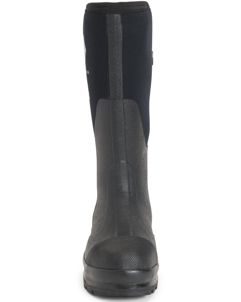 Muck Boots Women's Chore XF Rubber Boots - Steel Toe, Black, hi-res