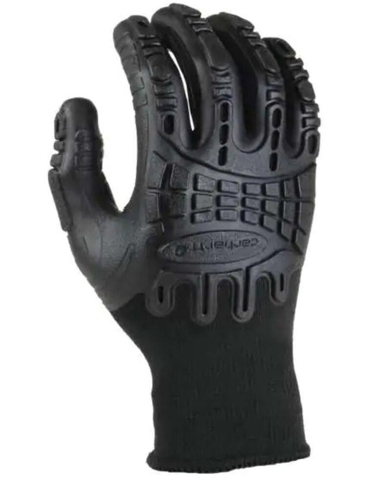Carhartt Black Impact C-Grip Gloves, Black, hi-res