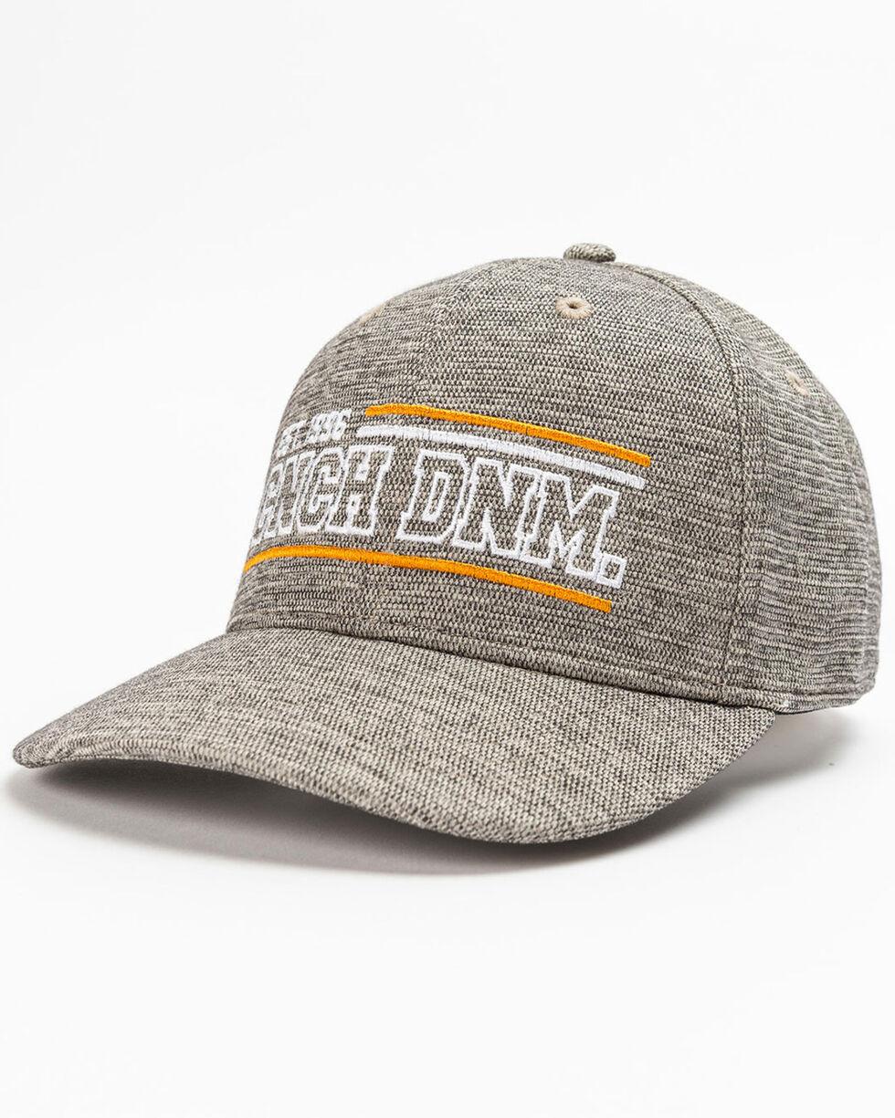 Cinch Men's Fitted Logo Ball Cap, Heather Grey, hi-res