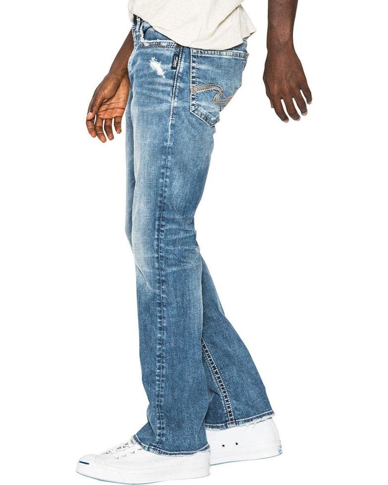 Silver Men's Craig Easy Fit Bootcut Jeans, Indigo, hi-res