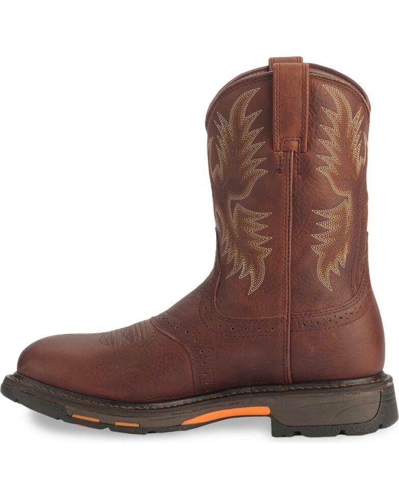 Ariat Men's Workhog H2O Composite Toe Western Work Boots, Copper, hi-res