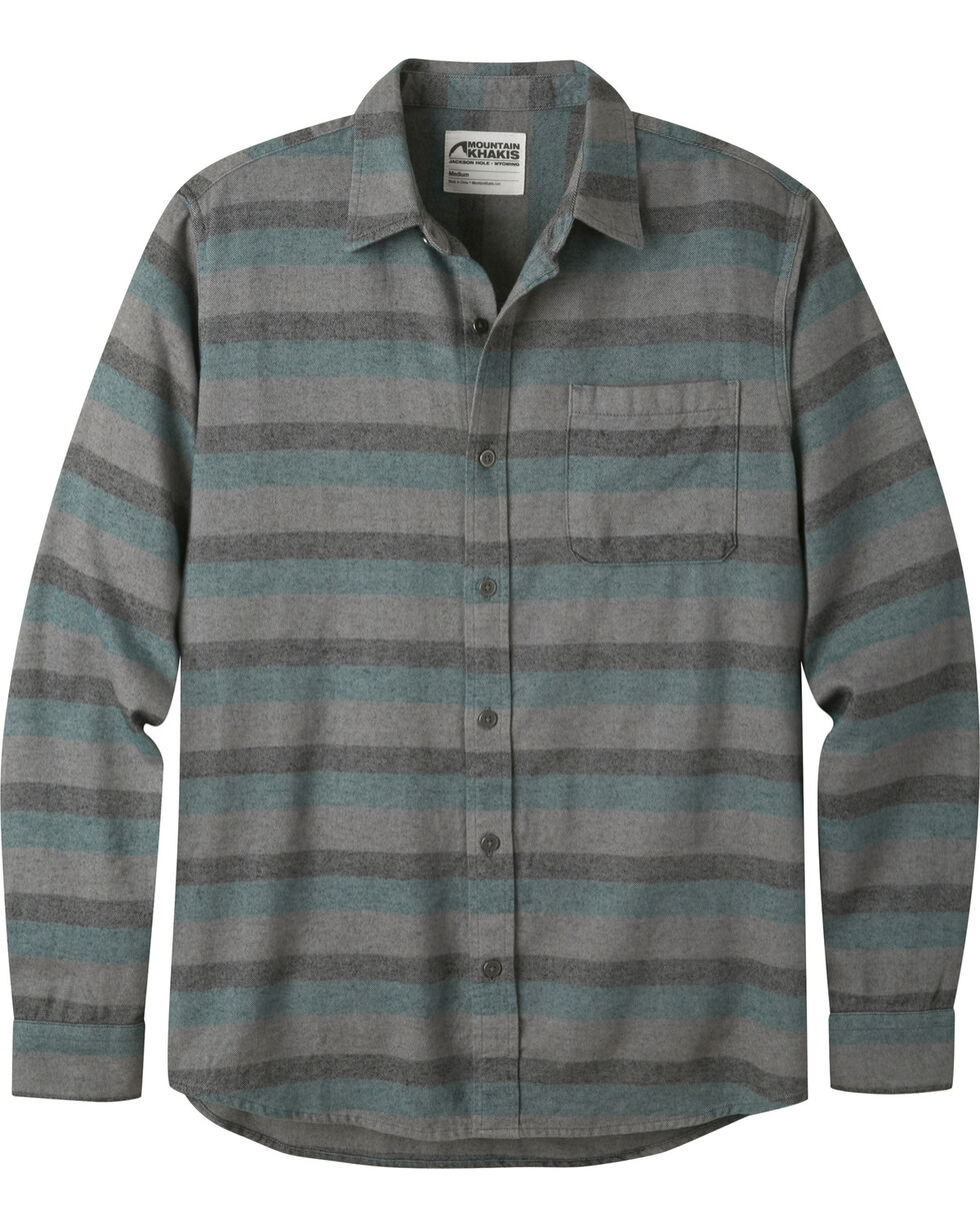 Mountain Khakis Men's Deep Jade Flannel Shirt , Green, hi-res