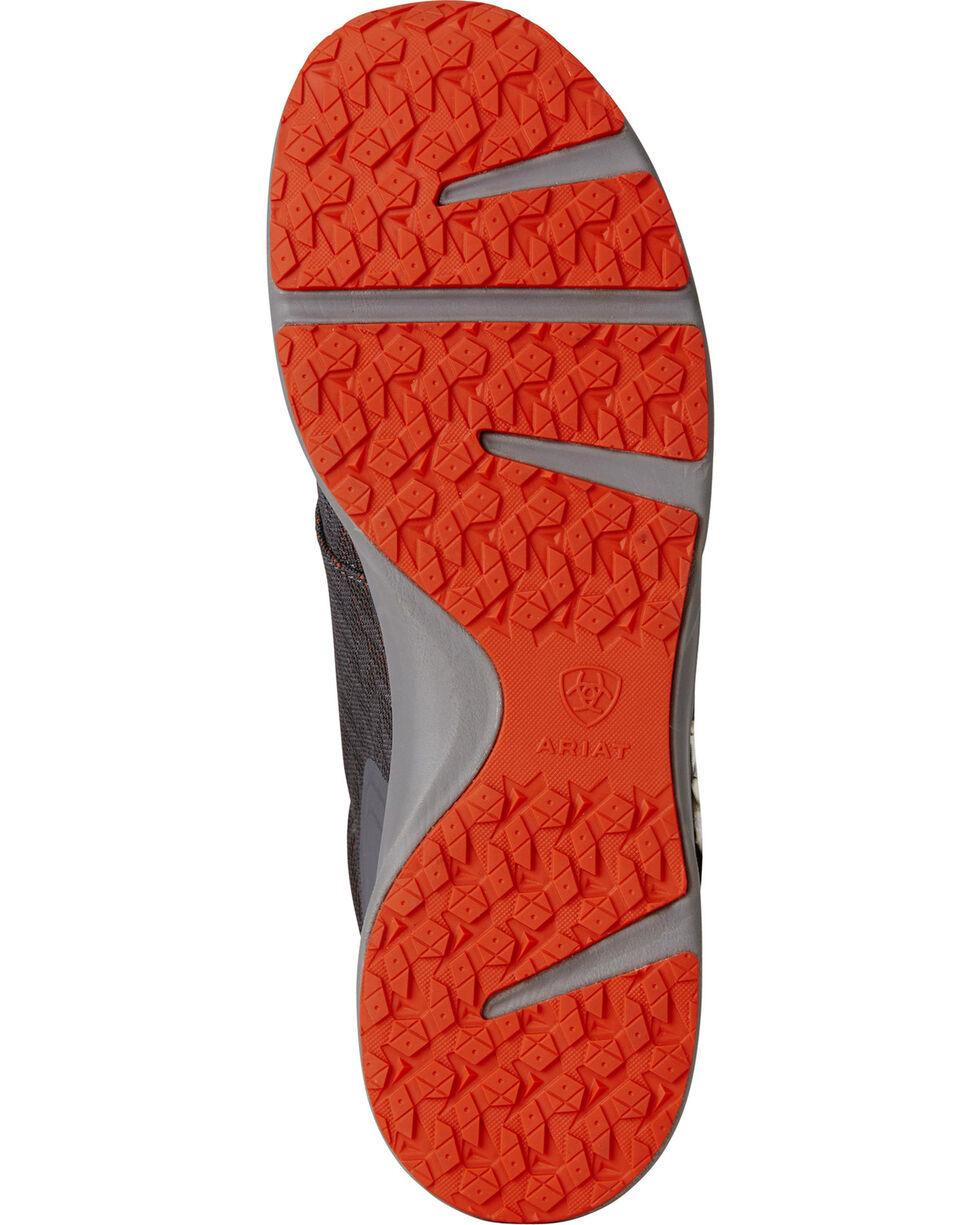 Ariat Men's Fuse Pattern Sneakers, Grey, hi-res