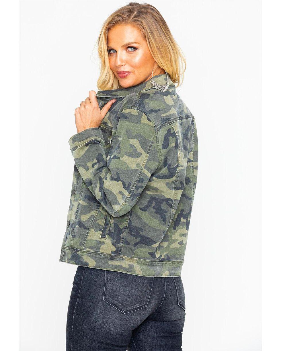Miss Me Women's Camo Jacket , Camouflage, hi-res