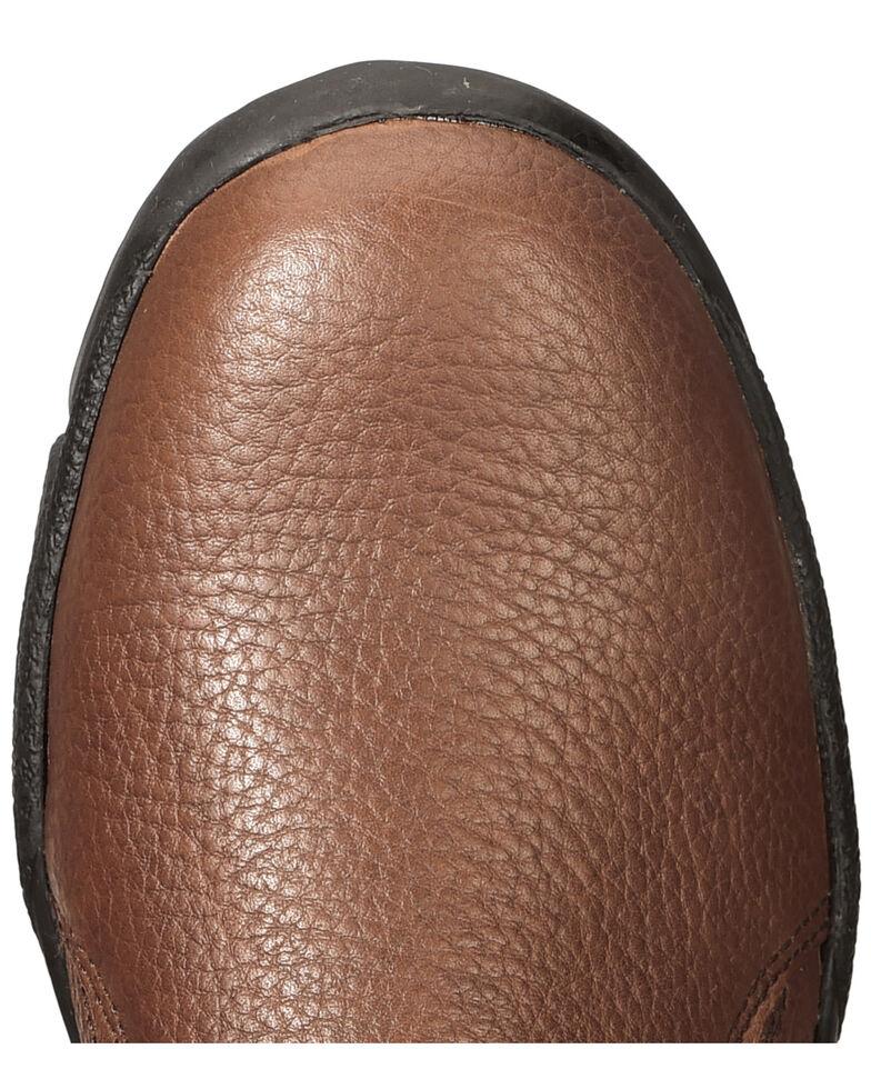 Roper Men's Performance Sport Slip On Shoes, Brown, hi-res