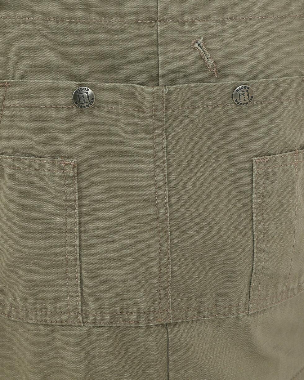 Wrangler Men's Brown Riggs Workwear Ripstop Bib Overalls , Brown, hi-res