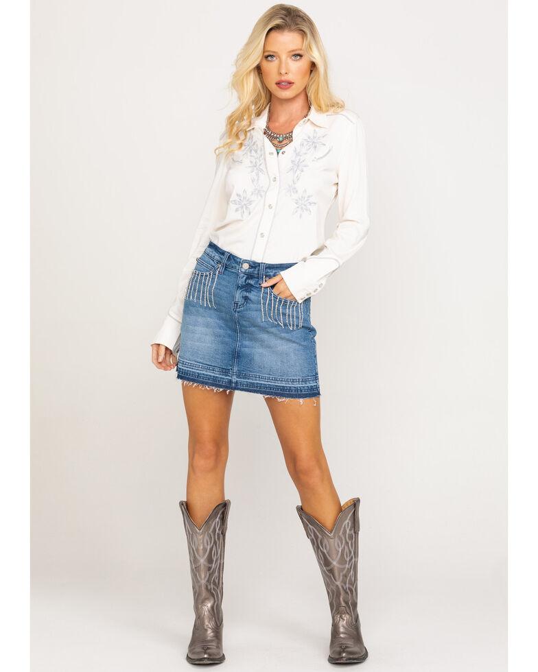 Idyllwind Women's Dolly's Denim Skirt, Blue, hi-res