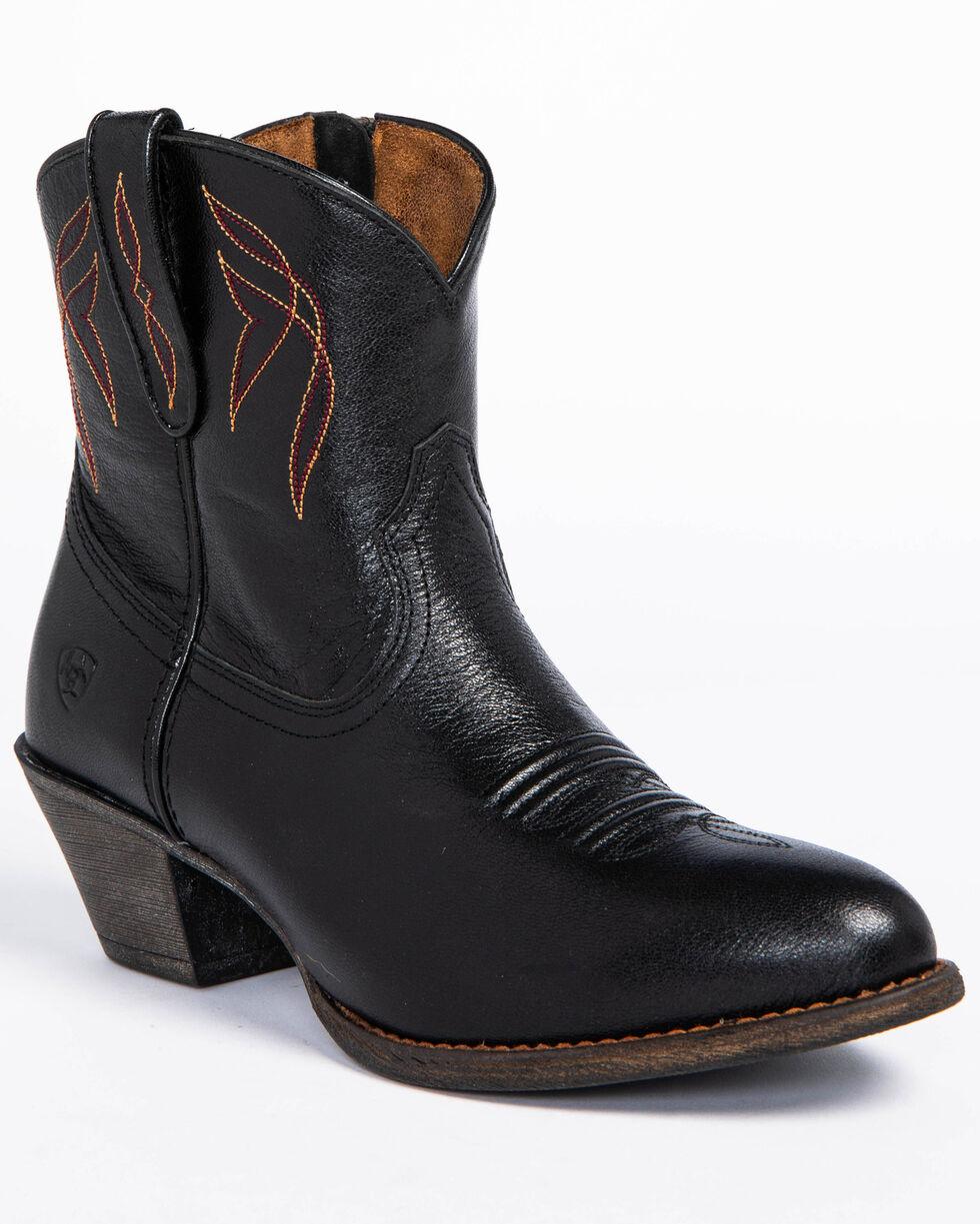 Ariat Women's Darlin Booties, Black, hi-res
