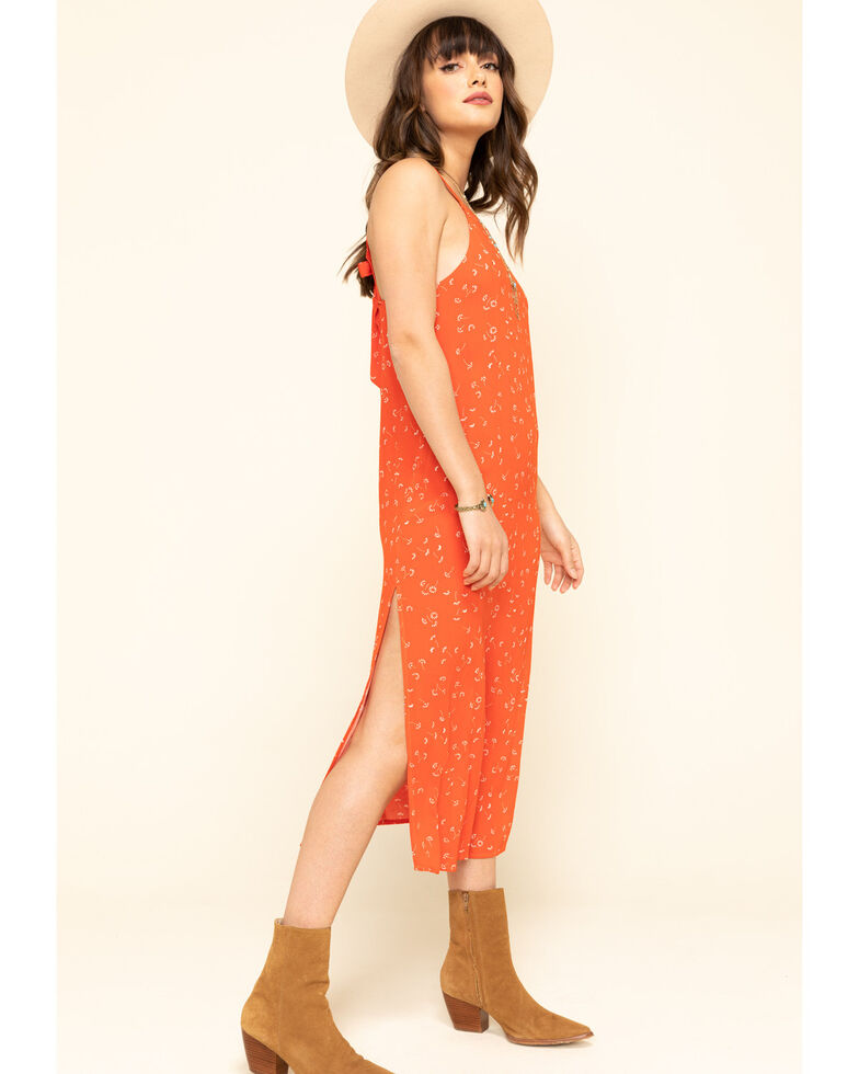 Others Follow Women's Red Floral Karla Maxi Dress, Red, hi-res