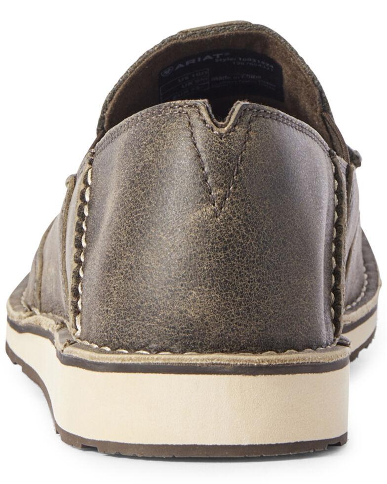 Ariat Men's Grey Noir Cruiser Shoes - Moc Toe, Grey, hi-res