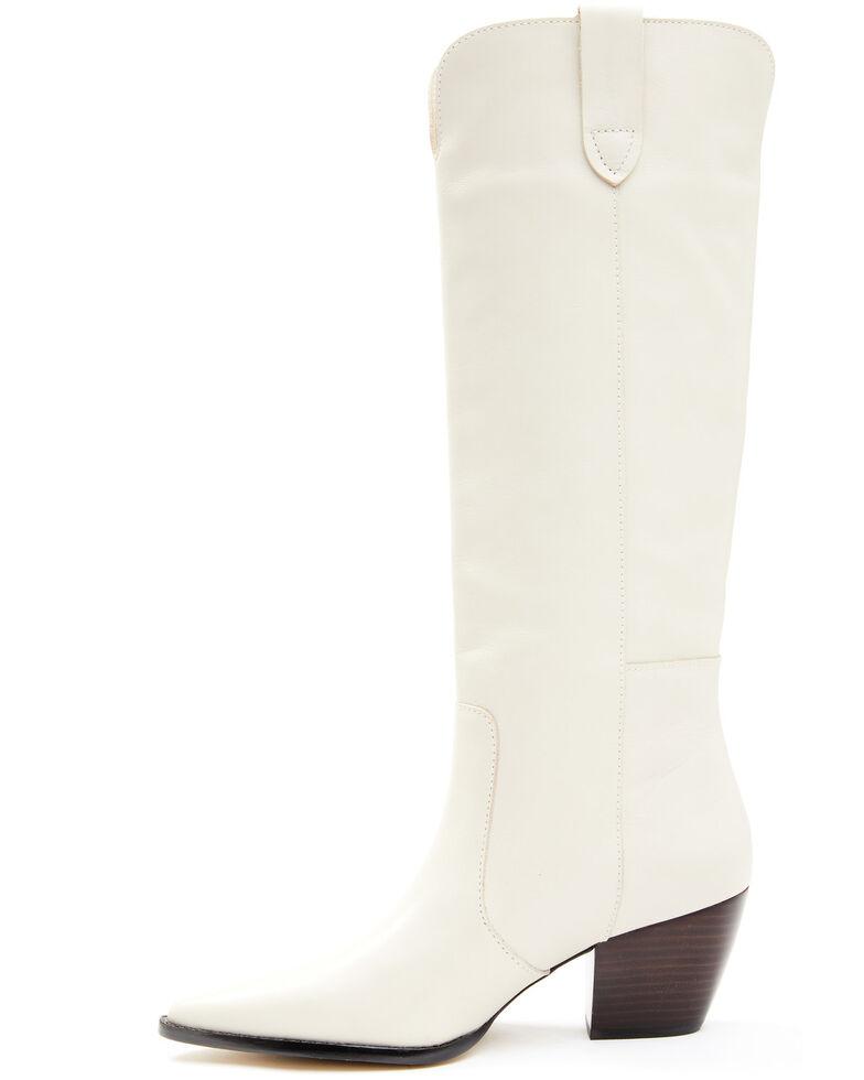Matisse Women's Stella Western Boots - Snip Toe, Off White, hi-res