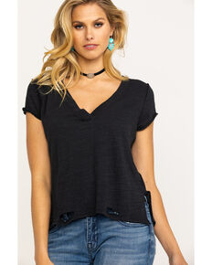 Free People Women's We The Free Sundance Tee, Black, hi-res