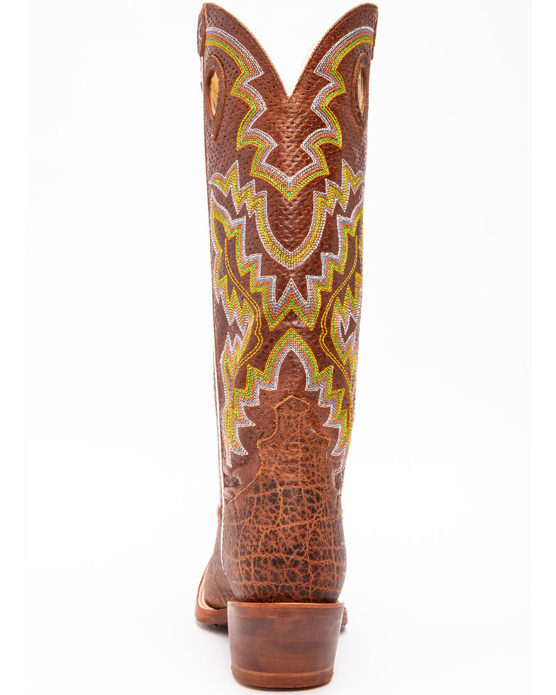 Twisted X Men's Latigo Buckaroo Western Boots - Square Toe, Brown, hi-res