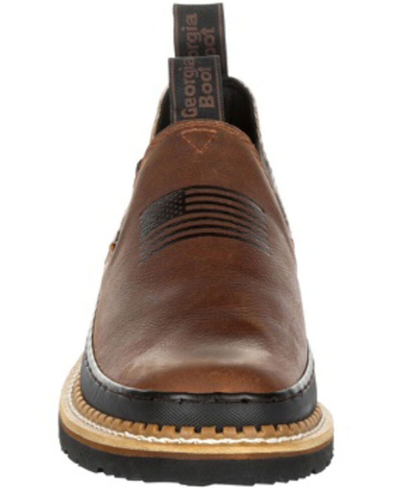 Georgia Boot Men's Giant Desert Camo Romeo Shoes - Round Toe, Camouflage, hi-res