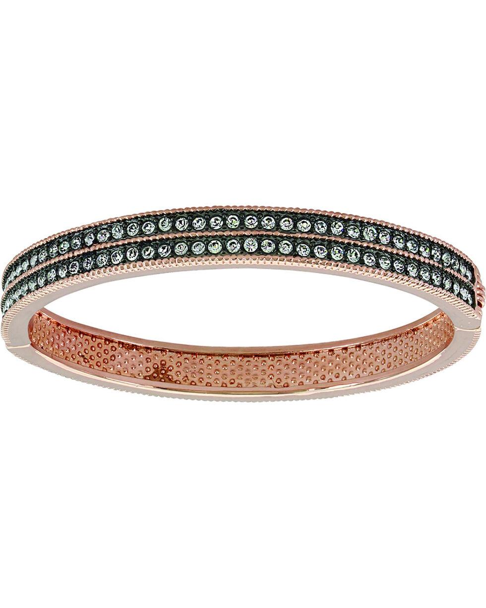 Montana Silversmiths Women's Sunset Lights Hinged Bracelet, No Color, hi-res