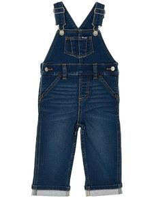 Wrangler Infant' Dark Washed Indigo Overall Pant Jeans , Blue, hi-res
