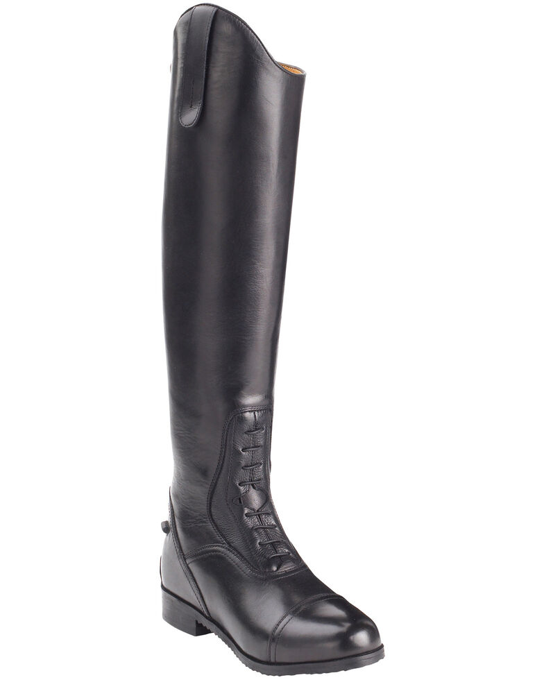 Ovation Men's Flex Field Boots, Black, hi-res