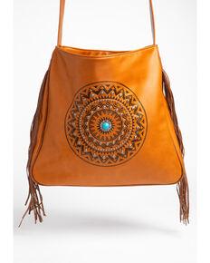 494f942fcd Shyanne Women s Fringe Concho Oversized Messenger Handbag