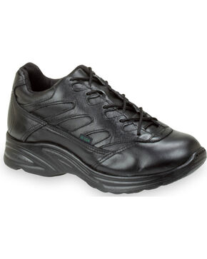 Thorogood Women's Liberty Street Athletics Postal Certified Oxfords, Black, hi-res