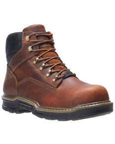 Wolverine Men's Raider II Work Boots - Composite Toe, Brown, hi-res