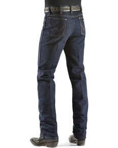 Wrangler Men's Silver Edition Slim Fit Jeans, Dark Denim, hi-res