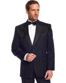 Circle S Men's Tuxedo Coat, Black, hi-res