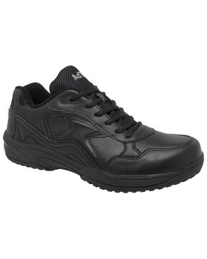 Ad Tec Women's Athletic Uniform Work Shoes - Composite Toe, Black, hi-res